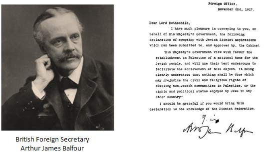 balfour-declaration pic and letter